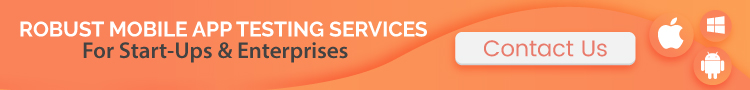 mobile app testing services banner