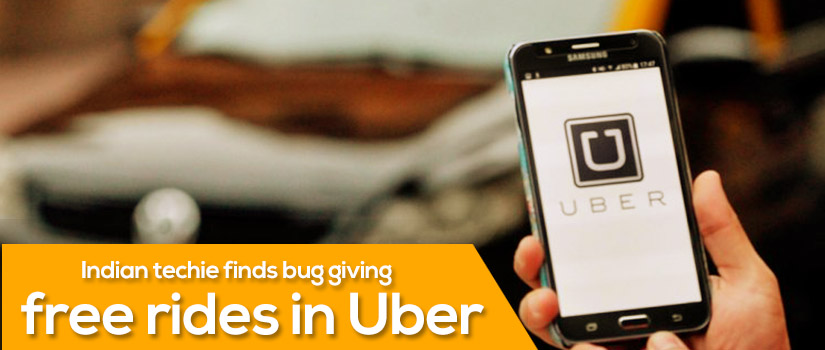 Indian techie finds bug giving free rides in Uber