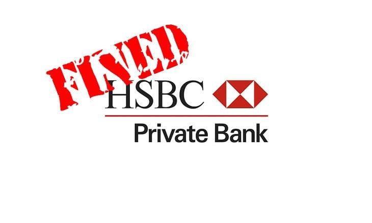 HSBC Online Banking Failure