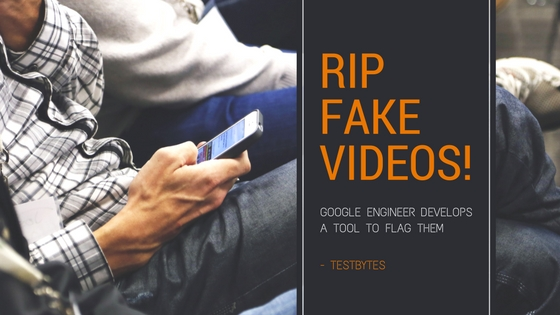 how to identify fake videos