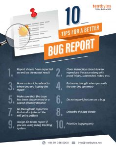 How to write bug report?