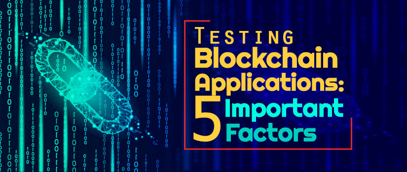 Testing Block Chain Applications