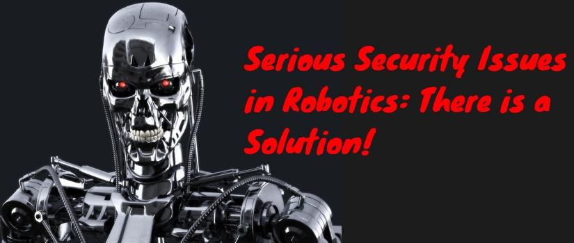 Security Issues in Robotics
