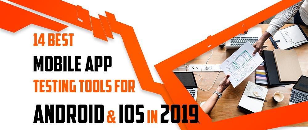 app testing tools