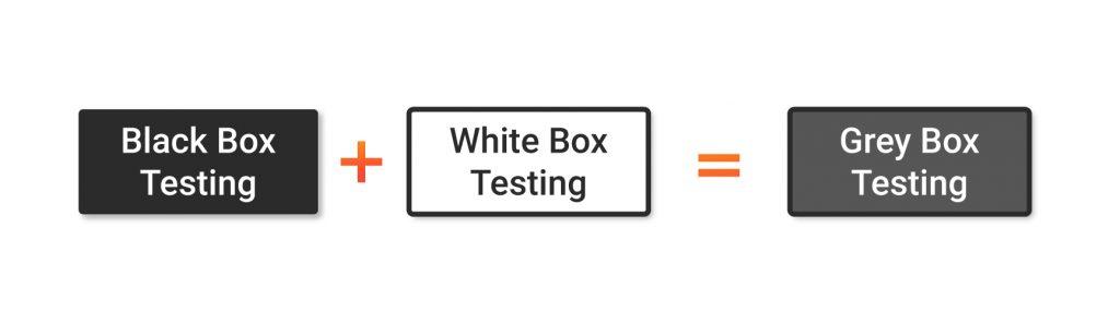 white box testing + black box testing