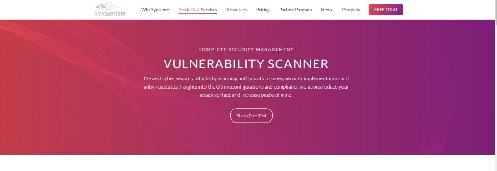 syxsense web page