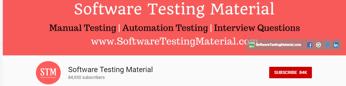 14 Best Software Testing YouTube Channels to follow in 2019