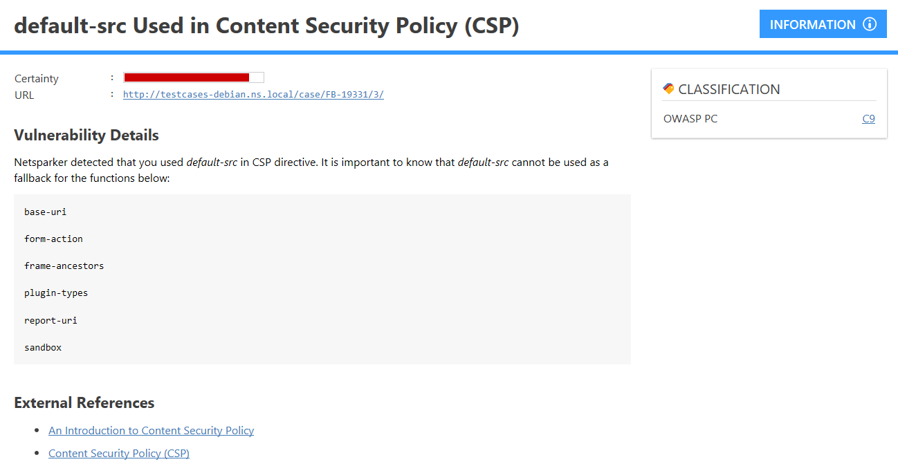 Use CSP