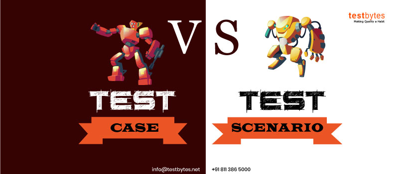 Difference Between Test Case vs Test Scenario [Infographic]