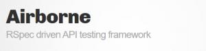Airborne API testing tool