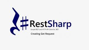 Restsharp API testing tool