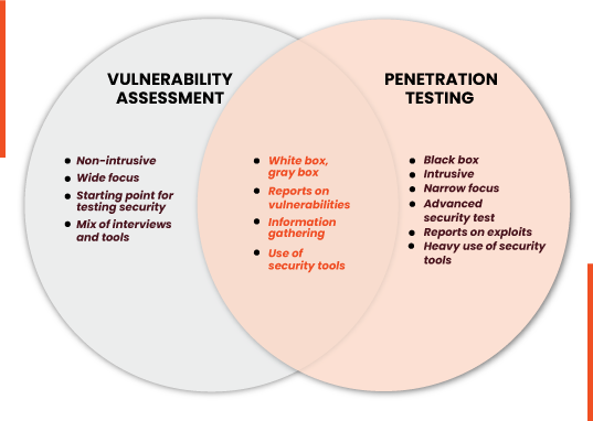 Vulnerability Assessment vs Penetration Testing