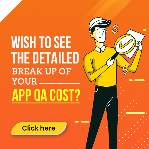 Mobile app test cost calculator